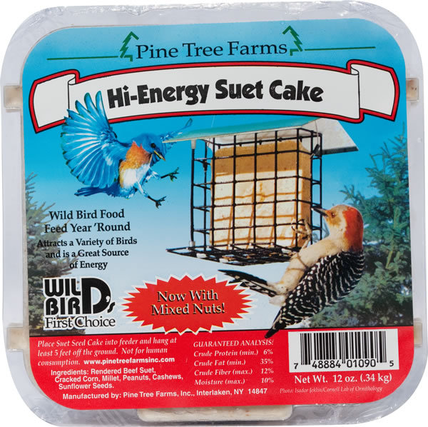 Pine Tree Farms Hi-Energy Suet Cake