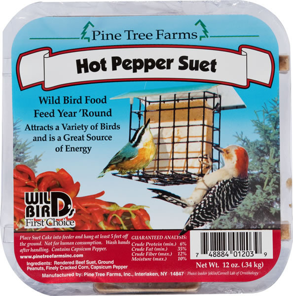 Pine Tree Farms Hot Pepper Suet