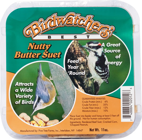 Nutty Butter Suet