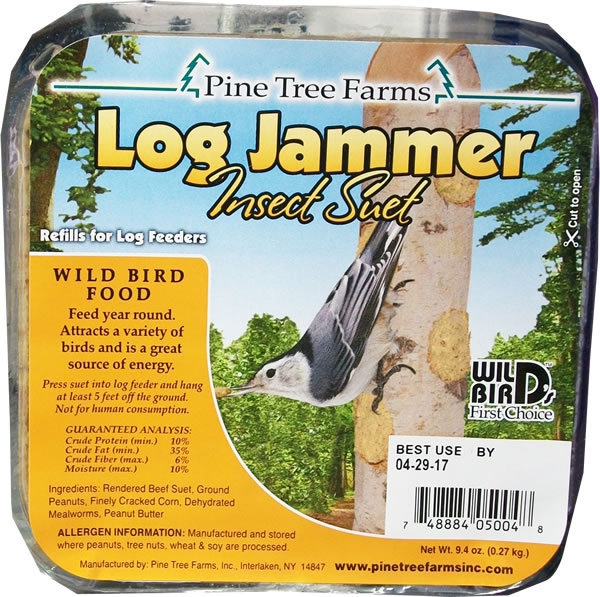 Pine Tree Farms Log Jammer Insect Suet