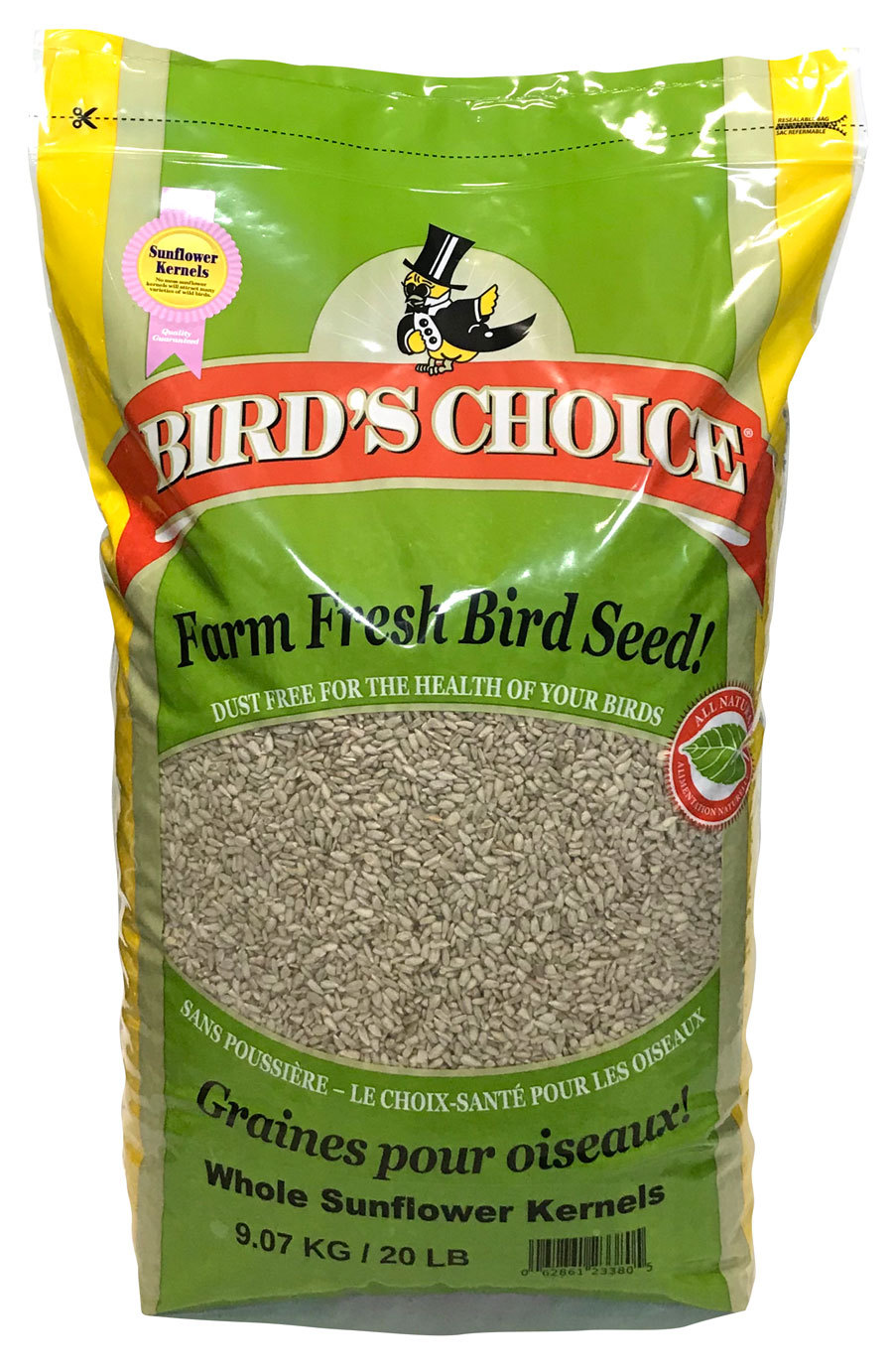 Bird's Choice® Sunflower Chips - Whole Kernels