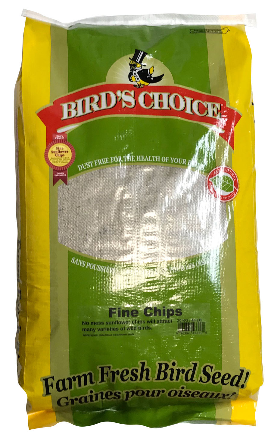 Bird's Choice® Sunflower Chips - Medium