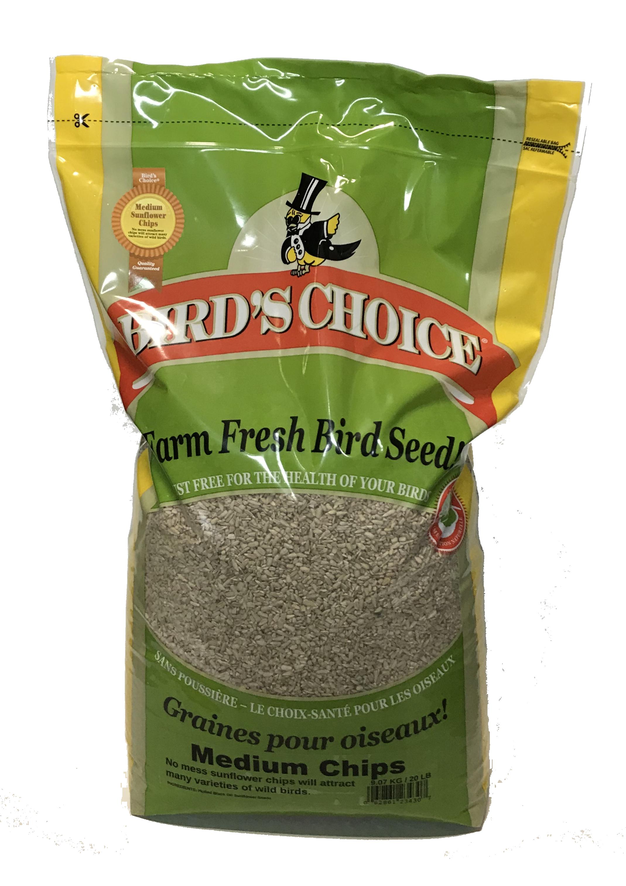 Bird's Choice® Sunflower Chips - Medium