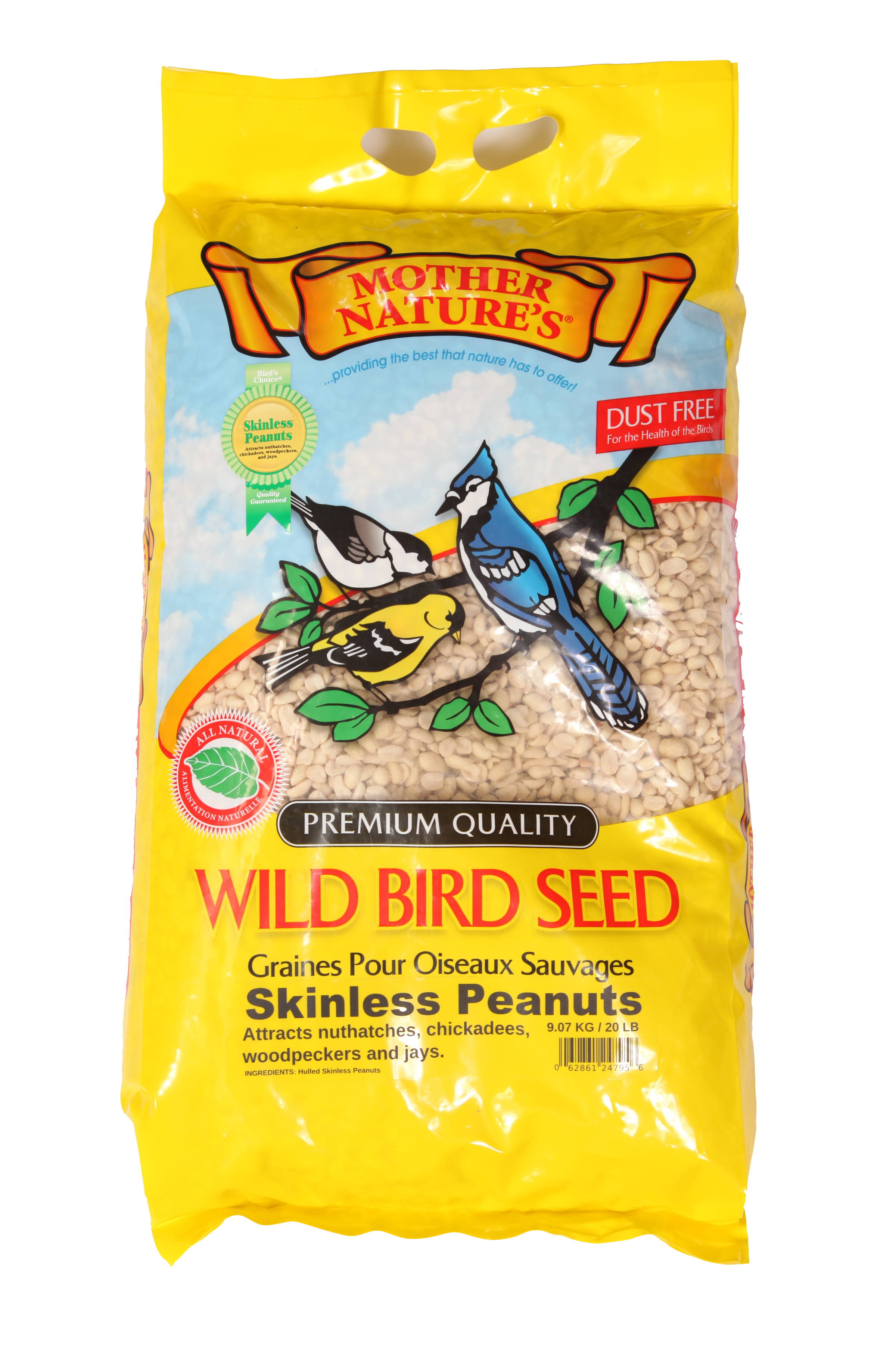 Mother Nature's® Skinless Peanuts