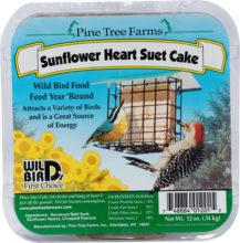 Sunflower Heart Suet Cake