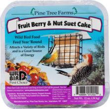 Fruit Berry & Nut Suet Cake