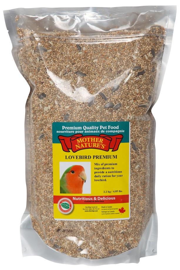 Mother Nature's® Lovebird Premium